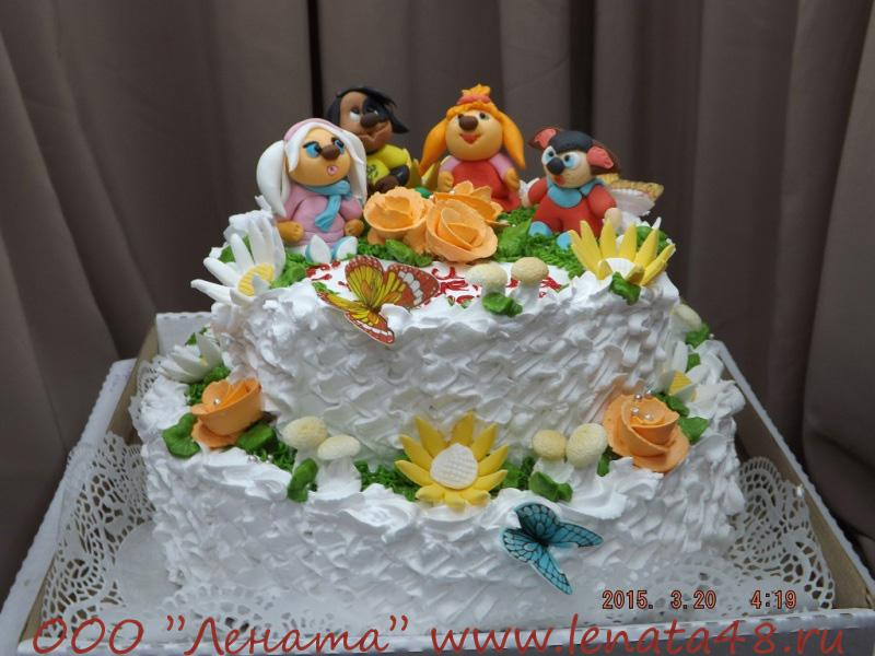 фото эксклюзивных детских тортов
